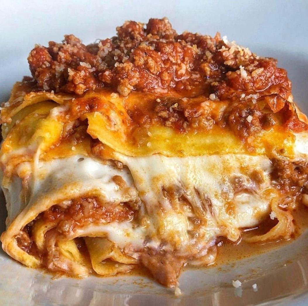 Lasagna de carne o pollo